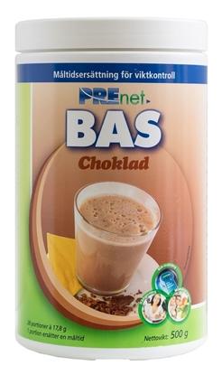 Prenet BAS Choklad, högkvalitativ måltidsersättning för effektiv viktkontroll.